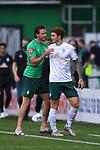 Joshua Sargent (Werder Bremen) kommt fuer Niclas Fuellkrug (Werder Bremen).<br /><br />Sport: Fussball: 1. Bundesliga:: nphgm001:  Saison 19/20: 34. Spieltag: SV Werder Bremen - 1. FC Koeln, 27.06.2020<br /><br />Foto: Marvin Ibo GŸngšr/GES/Pool/via gumzmedia/nordphoto