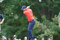 Padraig Harrington (IRL) tees off the 18th tee during Wednesday's Practice Day of the 2017 PGA Championship held at Quail Hollow Golf Club, Charlotte, North Carolina, USA. 9th August 2017.<br /> Picture: Eoin Clarke | Golffile<br /> <br /> <br /> All photos usage must carry mandatory copyright credit (&copy; Golffile | Eoin Clarke)
