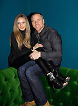 Melissa Ordway & Sean Carrigan - The Young and The Restless - Genoa City Live celebrating over 40 years on February 20, 2016 at the Wellmont Theatre, Montclair, NJ. on stage with questions and answers followed with autographs and photos in the theater.  (Photo by Sue Coflin/Max Photos)
