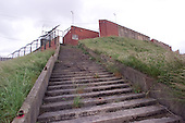 23/06/2000 Blackpool FC Bloomfield Road Ground..Kop rear , visitors steps.....© Phill Heywood.
