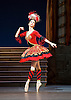 The Flames of Paris <br /> Bolshoi Ballet <br /> at The Royal Opera House, Covent Garden, London, Great Britain <br /> 5th August 2016 <br /> rehearsals<br /> <br /> <br /> Anna Tikhomirova as Mireille de Poitiers an actress <br /> <br /> <br /> Photograph by Elliott Franks <br /> Image licensed to Elliott Franks Photography Services