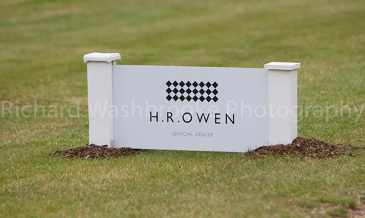 Sponsor H.R.Owen in the grounds of The Boodles, Stoke Park<br /> <br /> The Boodles Tennis Event, Stoke Park Tuesday 18th June, 2013,  Photo: Richard Washbrooke Photography