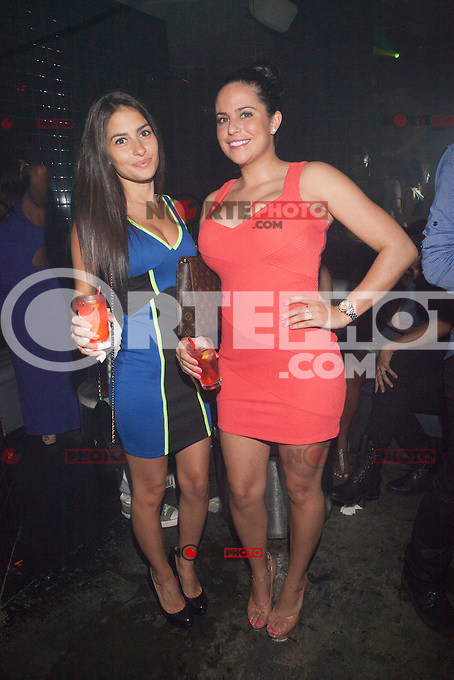Christie Livoti and Jennifer DiBitetto of Brooklyn 11223 attend A Bad Girls Club Night Out at Splash in New York City. August 8, 2012. &copy;&nbsp;Diego Corredor/MediaPunch Inc. /Nortephoto.com<br />