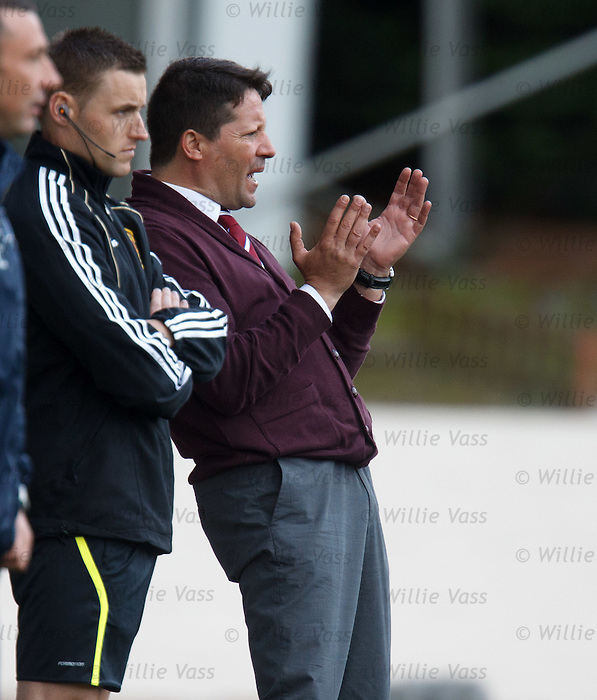 Hearts manager Paulo Sergio aghast