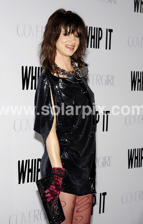 "**ALL ROUND PICTURES FROM SOLARPIX.COM**.**SYNDICATION RIGHTS FOR UK, AUSTRALIA, DENMARK, PORTUGAL, S. AFRICA, SPAIN & DUBAI (U.A.E) ONLY**.Arrivals for the ""Whip It"" Los Angeles Premiere at the Grauman's Chinese Theater, Hollywood, CA, USA. 29 September 2009..This pic: Julliette Lewis..JOB REF: 10038 PHZ (Ortega)    DATE: 29_09_2009.**MUST CREDIT SOLARPIX.COM OR DOUBLE FEE WILL BE CHARGED**.**MUST NOTIFY SOLARPIX OF ONLINE USAGE**.**CALL US ON: +34 952 811 768 or LOW RATE FROM UK 0844 617 7637**"
