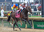 May 4, 2019 : Mitole, trained by Steve Asmussen, wins the Churchill Downs S. (G1) at Churchill Downs on May 4, 2019 in Louisville, KY. Jessica Morgan/ESW/CSM