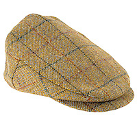 Studio Product Packshot of Men's Flat Cap.