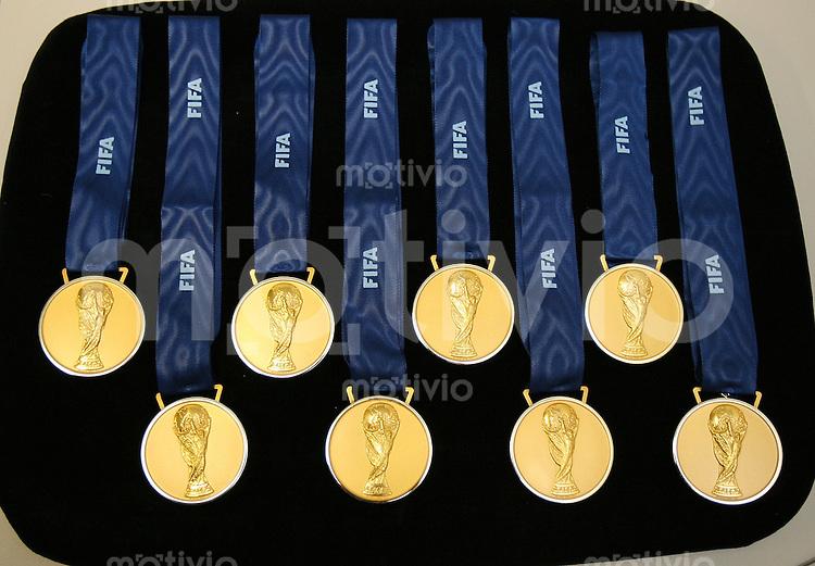 Fussball WM 2006  Finale   Italien 5-3 Frankreich n.E. Goldmedaillen werden gerichtet um 18.00 Uhr