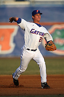 March 9, 2010:  Infielder Cody Dent (20) of the Florida Gators during a game at McKethan Stadium in Gainesville, FL.  Photo By Mike Janes/Four Seam Images