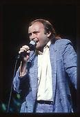 PHIL COLLINS; 1985; Live Photo Credit: JEFFREY MAYER/ATLASICONS.COM