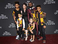 "20 September 2016 - Hollywood, California - David Oyelowo, wife Jessica Oyelowo and their four children. ""Queen Of Katwe"" Los Angeles Premiere held at the El Capitan Theater in Hollywood. Photo Credit: AdMedia"