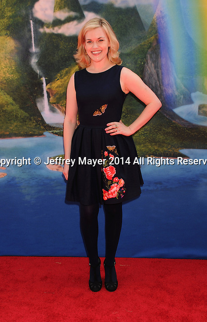 BURBANK, CA- MARCH 22: Actress Kari Wahlgren attends the premiere of DisneyToon Studios' 'The Pirate Fairy' at Walt Disney Studios on March 22, 2014 in Burbank, California.