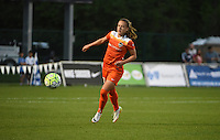 Kansas City, MO - Saturday May 07, 2016: Houston Dash midfielder Andressa Machry (17) against FC Kansas City during a regular season National Women's Soccer League (NWSL) match at Swope Soccer Village. Houston won 2-1.
