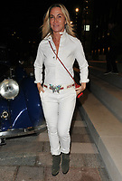 Meg Mathews at the Bluebird Cafe launch party, Bluebird Cafe, Television Centre White City, Wood Lane, London, England, UK, on Tuesday 10 April 2018.<br /> CAP/CAN<br /> &copy;CAN/Capital Pictures