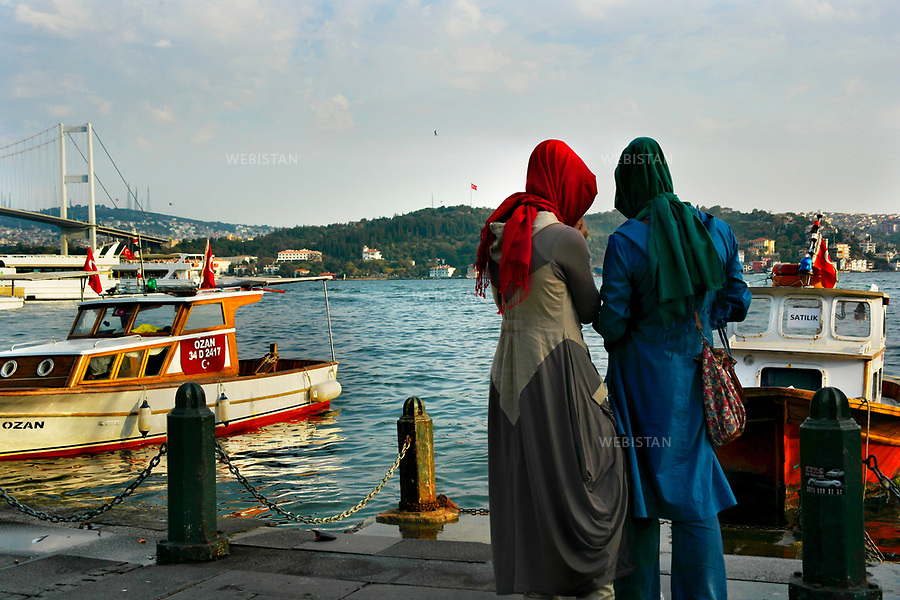 Turkey, Istanbul, Ortakoy District, October 4, 2012