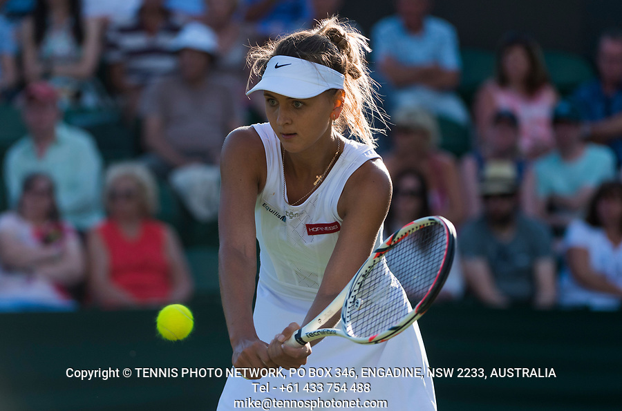 MARYNA ZANEVSKA (UKR)<br /> <br /> TENNIS - THE CHAMPIONSHIPS - WIMBLEDON- ALL ENGLAND LAWN TENNIS AND CROQUET CLUB - ATP - WTA -ITF - WIMBLEDON-SW19, LONDON, GREAT  BRITAIN- 2017  <br /> <br /> <br /> &copy; TENNIS PHOTO NETWORK