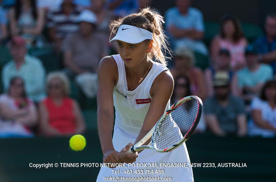 MARYNA ZANEVSKA (UKR)<br /> <br /> TENNIS - THE CHAMPIONSHIPS - WIMBLEDON- ALL ENGLAND LAWN TENNIS AND CROQUET CLUB - ATP - WTA -ITF - WIMBLEDON-SW19, LONDON, GREAT  BRITAIN- 2017  <br /> <br /> <br /> &copy; TENNIS PHOTO NETWORK