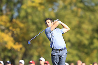 Rory McIlroy (Team Europe) during Sunday Singles matches at the Ryder Cup, Hazeltine National Golf Club, Chaska, Minnesota, USA. 02/10/2016<br /> Picture: Golffile | Fran Caffrey<br /> <br /> <br /> All photo usage must carry mandatory copyright credit (&copy; Golffile | Fran Caffrey)