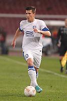 NAPOLI 08/11/2012 - GRUPPO F UEFA  EUROPA LEAGUE.INCONTRO NAPOLI - DNIPRO.NELLA FOTO Yevhen Konoplyanka.FOTO CIRO DE LUCA