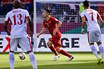 Nguyen Huy Hung of Vietnam in action during the AFC Asian Cup UAE 2019 Round of 16 match between Jordan (JOR) and Vietnam (VIE) at Al Maktoum Stadium on 20 January 2019 in Dubai, United Arab Emirates. Photo by Marcio Rodrigo Machado / Power Sport Images