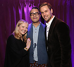 Susan Stroman, Ed Sylvanus Iskandar and Dan Amboyber attends the SDC Foundation Awards on October 30, 2017 at The Green Room 42 in New York City.