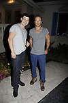 Christopher Sean - Days & Ryan Carnes - GH - Karoake and Bartending at La Tavola Restaurant and Bar where Actors from Y&R, General Hospital and Days donated their time to Southwest Florida 16th Annual SOAPFEST - a celebrity weekend May 22 thru May 25, 2015 benefitting the Arts for Kids and children with special needs and ITC - Island Theatre Co. on May 24, 2015. (Photos by Sue Coflin/Max Photos)
