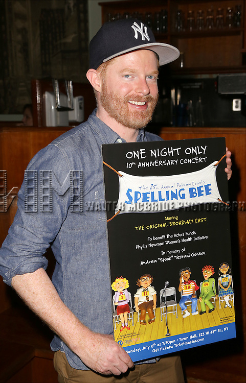 Jesse Tyler Ferguson attends the After Party for the One Night Only 10th Anniversary Concert of 'The 25th Annual Putnam County Spelling Bee' at Town Hall on July 6, 2015 in New York City.