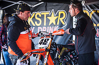 Rokstar Team mechanics Spanish Motocross Championship at Albaida circuit (Spain), 22-23 February 2014