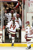 - The Boston College Eagles defeated the visiting Brown University Bears 5-2 on Sunday, October 24, 2010, at Conte Forum in Chestnut Hill, Massachusetts.