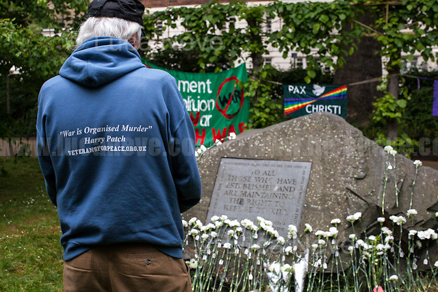 Member of Veterans For Peace UK.<br />