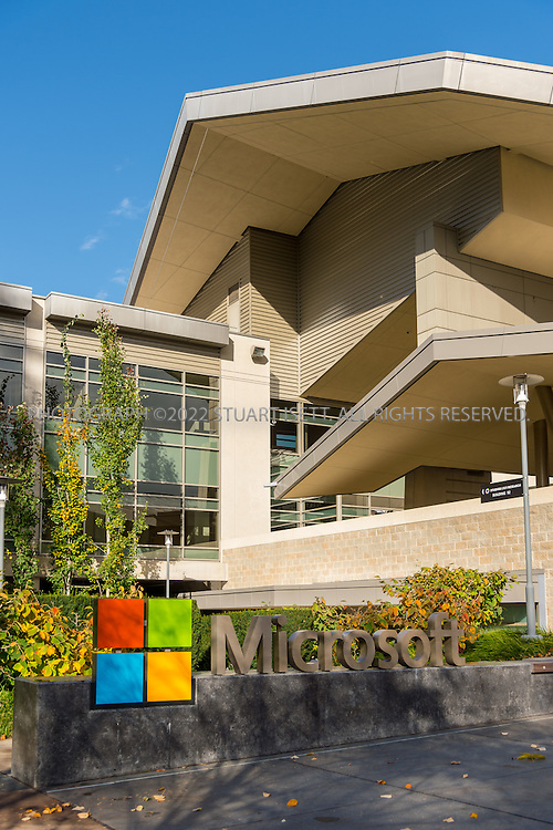 10/26/2016-- Redmond, WA, USA<br /> <br /> Microsoft&rsquo;s campus in Redmond, Washington.<br /> <br /> Photograph by Stuart Isett. &copy;2016 Stuart Isett. All rights reserved.