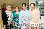 Betty Groves, Eucharia Breen, Bernadette O'Callaghan and Vanessa Casey enjoying the CH Chemist fashion show in aid of Tralee Lions Club on Friday night.