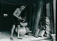 Sargtischler in Hongkong 1977