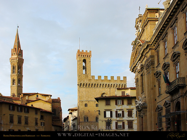 Badia Fiorentina Bargello San Firenze Complex Piazza San Firenze Florence
