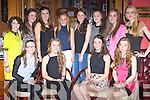 Mary O'Connor, Castleisland celebrated her 16th birthday with a meal with her friends in the River Island Hotel on Saturday night front row l-r: Gillian Hanafin, Emer Horgan, Mary O'connor, Makayla Donovan. Back row: Kathleen O'Sullivan, Rachel O'Connor, Ellen Sheehan, Andrea Murphy, Elizabeth O'Connor, Molly O'Callaghan, Orla O'Connor and Katie Flynn