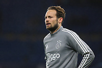 Daley Blind of Ajax ahead of kick-off during Chelsea vs AFC Ajax, UEFA Champions League Football at Stamford Bridge on 5th November 2019