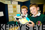 POT-TENTIONALLY DIFFERENT: Owen Lucid and Calum Irvine from Causeway Comprehensive school proved the nutritional value of the organic versus fertilized potato at the annual SciFest Science and Technology Fair held in the ITT on Tuesday.