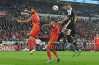 Wales v Belgium during the Euro 2016 Group B European Championships at the Cardiff City Stadium on Friday 12th June 2015<br /> <br /> <br /> Jeff Thomas Photography -  www.jaypics.photoshelter.com - <br /> e-mail swansea1001@hotmail.co.uk -<br /> Mob: 07837 386244 -