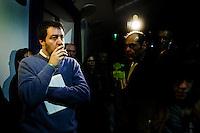 CONGRESSO NAZIONALE LEGA NORD NELLA FOTO IL SEGRETARIO NAZIONALE MATTEO SALVINI POLITICA BRESCIA 21/11/2015 FOTO MATTEO BIATTA<br /> <br /> NATIONAL CONGRESS LEGA NORD IN THE PICTURE NATIONAL LEADER MATTEO SALVINI POLITICS BRESCIA 21/11/2015 PHOTO BY MATTEO BIATTA