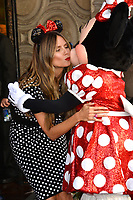 Heidi Klum & Minnie Mouse at the Hollywood Walk of Fame Star Ceremony honoring Disney character Minnie Mouse, Los Angeles, USA 22 Jan. 2018<br /> Picture: Paul Smith/Featureflash/SilverHub 0208 004 5359 sales@silverhubmedia.com