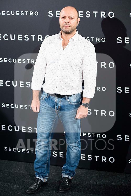 "Vicente Romero during the presentation of the spanish film ""Secuestro"" in Madrid. July 27. 2016. (ALTERPHOTOS/Borja B.Hojas)"