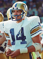 Scott Flagel Winnipeg Blue Bombers 1983. Copyright photograph Scott Grant