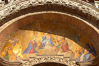 St Marks Basilica - Mosaic of Christ - Venice - Italy