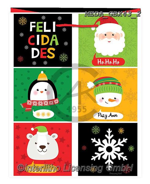 Dreams, CHRISTMAS ANIMALS, WEIHNACHTEN TIERE, NAVIDAD ANIMALES, paintings+++++,MEDAGBX43/2,#XA# ,sticker,stickers