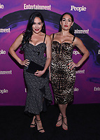 NEW YORK, NEW YORK - MAY 13: Nikki Bella, Brie Bella aka The Bella Twins attend the People & Entertainment Weekly 2019 Upfronts at Union Park on May 13, 2019 in New York City. <br /> CAP/MPI/IS/JS<br /> ©JS/IS/MPI/Capital Pictures