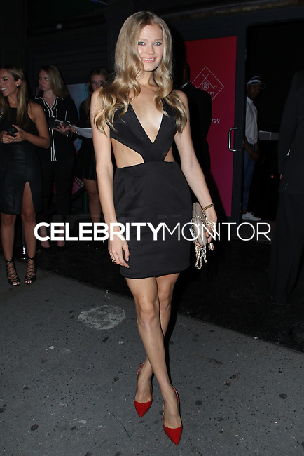 NEW YORK CITY, NY, USA - SEPTEMBER 04: Vita Sidorkina arrives at the Refinery29 Country Club Launch & NYFW Kick-Off Party held at 82 Mercer on September 4, 2014 in New York City, New York, United States. (Photo by Jeffery Duran/Celebrity Monitor)