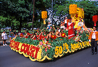 Royal Court float, Aloha Festivals Parade, Honolulu