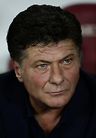 Calcio, Serie A: Torino - Sassuolo, Olympic stadium Grande Torino, August 25, 2019.<br /> Torino's coach Walter Mazzarri prior to the Italian Serie A football match between Torino and Sassuolo at Olympic stadium Grande Torino, August 25, 2019.<br /> UPDATE IMAGES PRESS/Isabella Bonotto