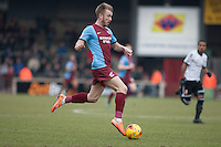 Paddy Madden of Scunthorpe Utd<br />  - Scunthorpe United vs Swindon Town - Sky Bet League One Football at Glanford Park, Scunthorpe, Lincolnshire - 14/02/15 - MANDATORY CREDIT: Mark Hodsman/TGSPHOTO - Self billing applies where appropriate - contact@tgsphoto.co.uk - NO UNPAID USE