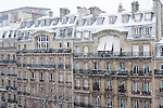 Paris, France. December 17th 2009..Avenue carnot (17th Arrondissement)